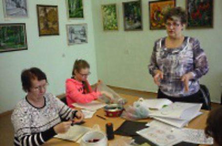 Мастер-класс от Людмилы Сашко