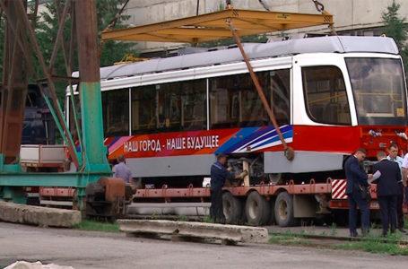 Трамваи — к Дню города