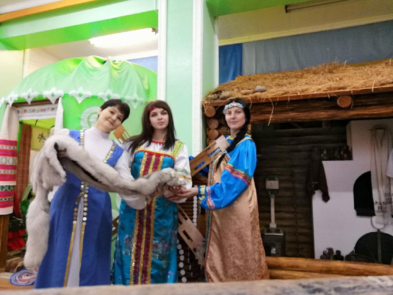 Башкирская юрта в ДК Юрюзани
