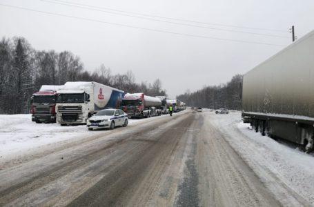 Продлено ограничение движения на трассе М5