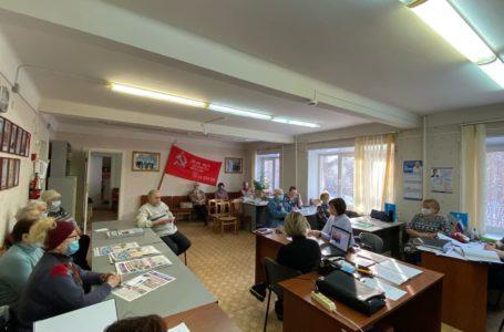 Активисты Совета Ветеранов Трёхгорного поддержали идею благоустройства Парка культуры и отдыха