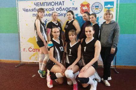 Усть-катавские волейболисты в финале чемпионата области!