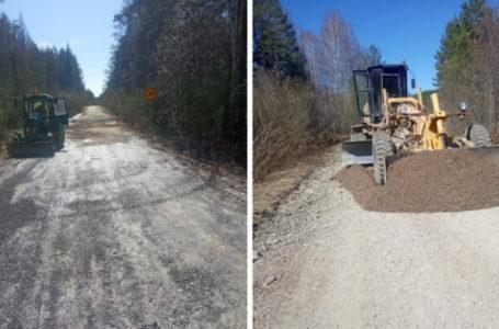 Дорогу в посёлок Тюлюк в Катав-Ивановском районе восстановили