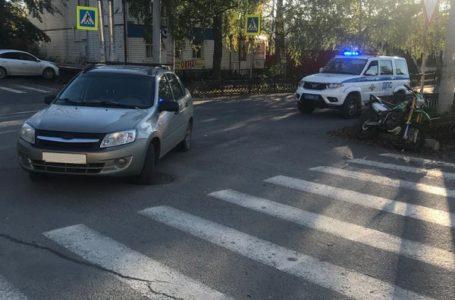 В Усть-Катаве произошло дорожно-транспортное происшествие